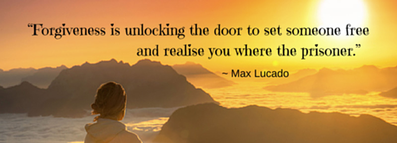 forgiveness is unlocking the door