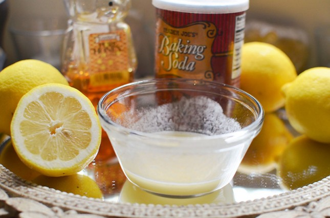 Baking soda, purifying salt