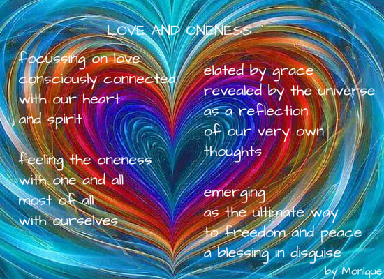 LOVE AND ONENESS
